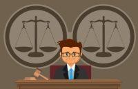 hakim mendengarkan kedua belah pihak