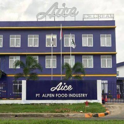 pt alpen food industry pabrik es krim aice
