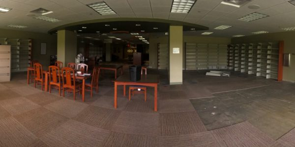 The TeenZone before construction.