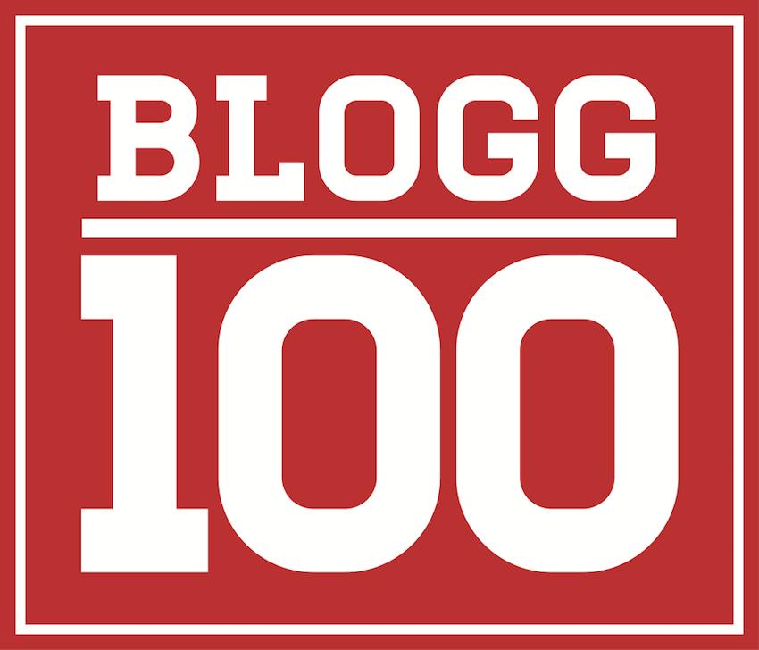 #Blogg100 logga
