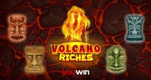 Youwin Volcano Riches slot oyunu.