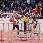 Men's hurdles qualifying