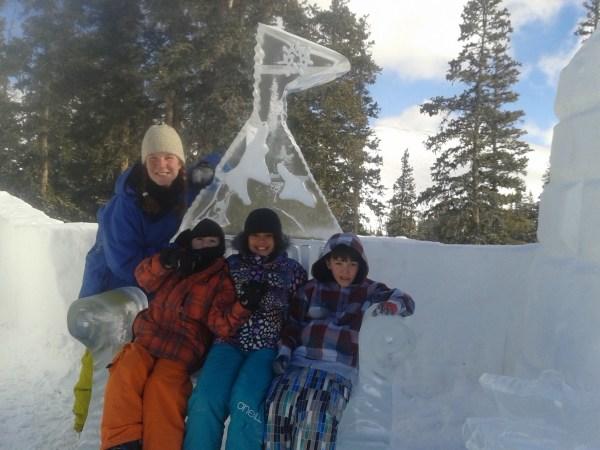 SOS Outreach, Ride Day II at Kidtopia Snow Castle.