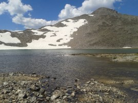 Pacific Tarn & Pacific Peak; where water begins.