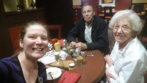 Dinner with the grandparents