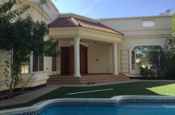 4 BR villa with a private pool for rent