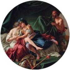 Mars et Venus surpris par Vulcain par Louis-Jean-François LAGRENEE (1725-1805) Musée du Louvre