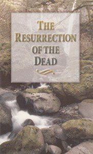 booklet-The Resurrection of the Dead