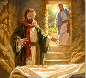 The empty tomb testifies to Jesus' resurrection.