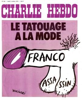 Cuando Charlie Hebdo era antifranquista