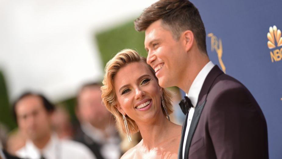 ¡Se casa en secreto! Scarlett Johansson llega al altar con Colin Jost