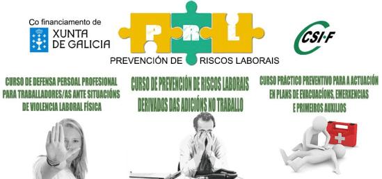 Cursos PRL CSI-F Galicia
