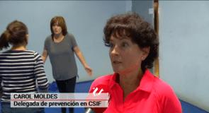 Curso Defensa Personal. Carol Moldes, delegada PRL