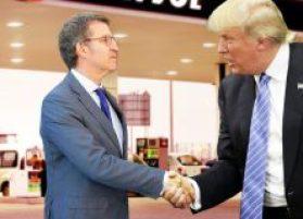 Feijóo e Trump