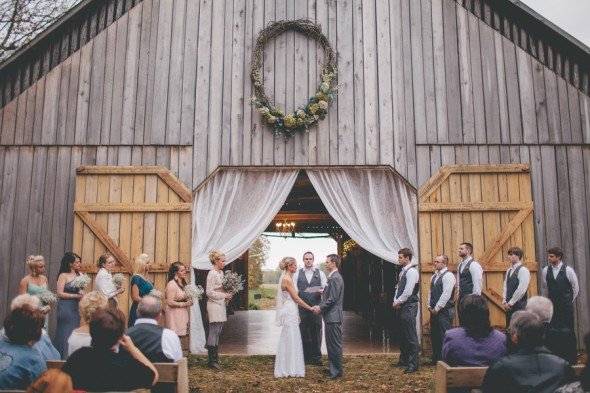 Photographe: Lindsey Johnson Source: Rustic Wedding Chic