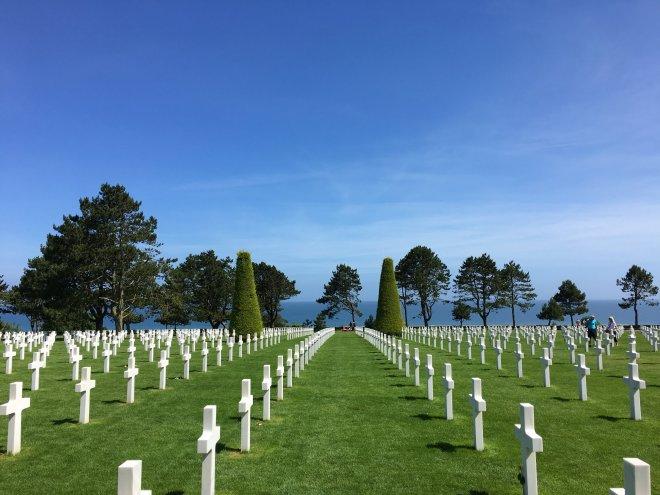 Normandie amerikanischer Soldatenfriedhof