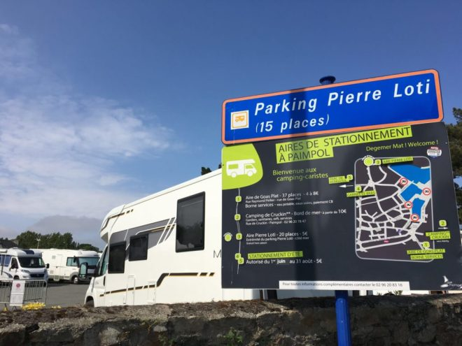 Stellplatz Paimpol Bretagne