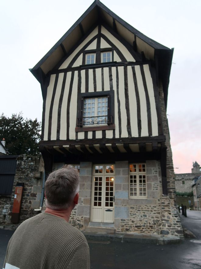 Haus des Mittelalters in Fougeres