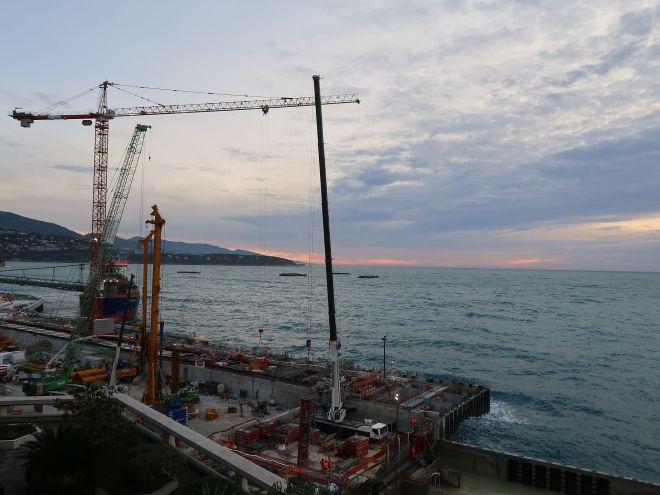 Baustelle Monte Carlo