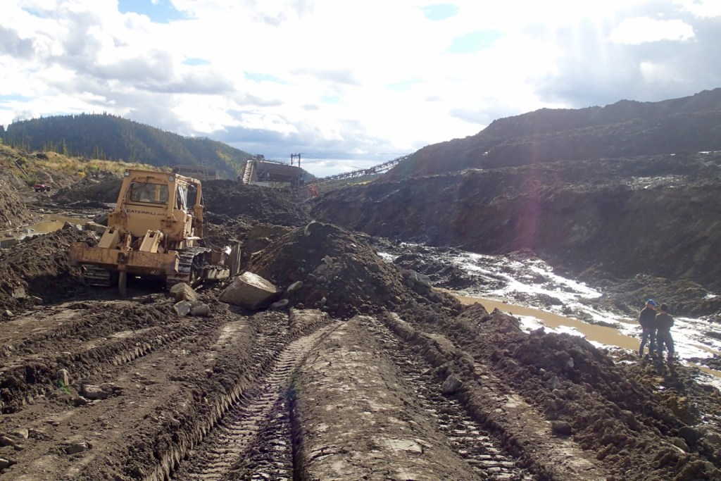 A whole lot of mud called 'goldmine'