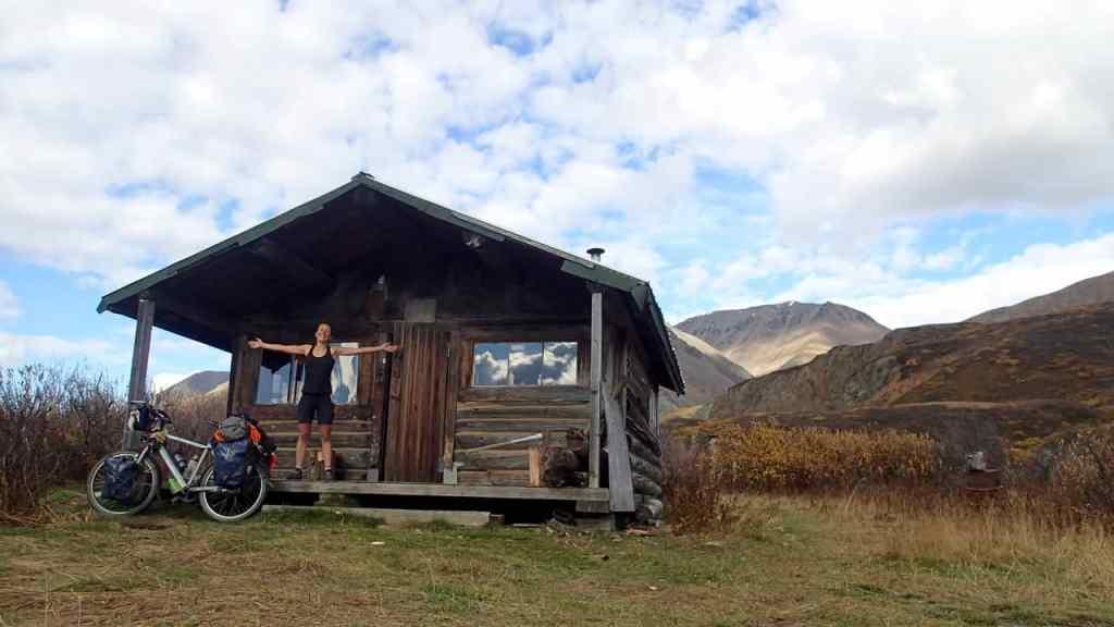 Mijn eigen cabin voor de nacht