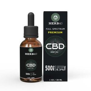 herb40 herbforty premium uk cbd 30ml 500mg
