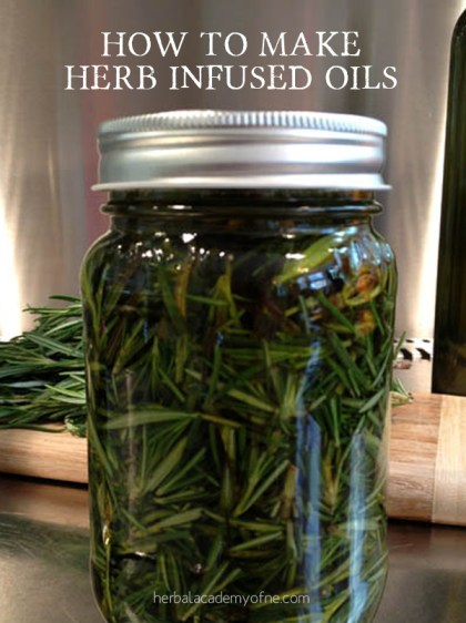 How to make Herb Infused Oils - Herbal Academy