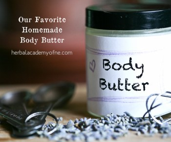 our favorite homemade body butter
