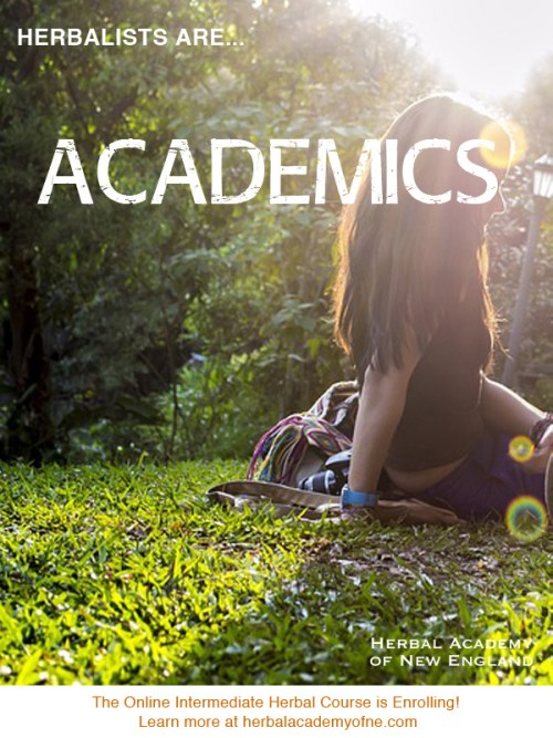 What are herbalists? Herbalists are academics!