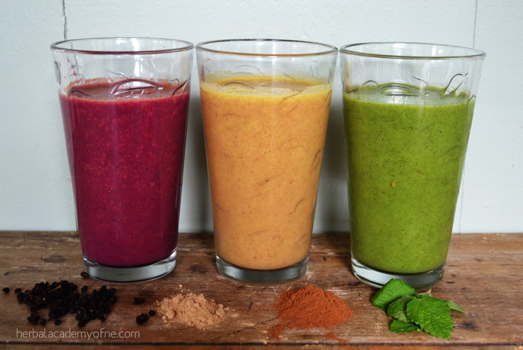 3 Delicious Go-To Herbal Smoothies - Herbal Academy of New England