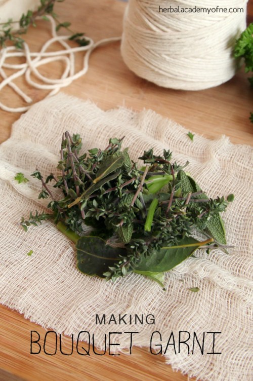 Making and Using Bouquet Garni