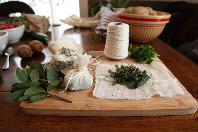 Using Bouqet Garni in Seasonal Recipes