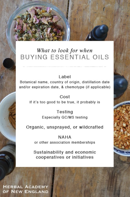 How to Choose High Quality Essential Oils - Herbal Academy