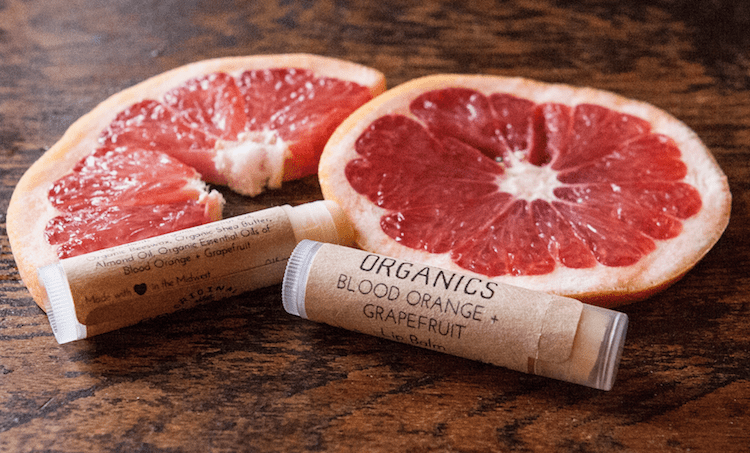 Grapefruit Lip Balm by Original Organics - Herbal Body Care Products To Buy or DIY?