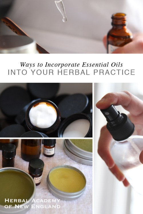 Ways to Incorporate Essential Oils into your Herbal Practice
