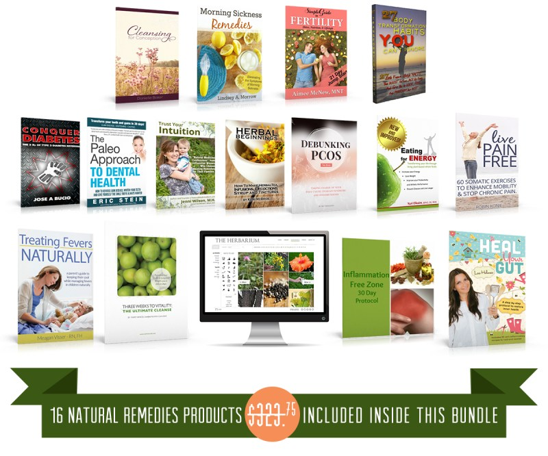 Ultimate Healthy Living Bundle 2015 is available only until September 14!