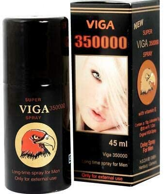 New Super Viga 350000 Delay Spray