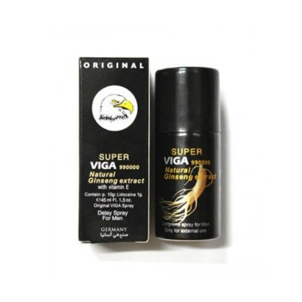 Super Viga 990000 Delay Spray with Natural Ginseng Extract