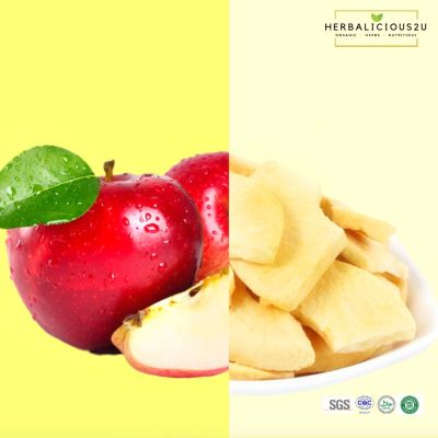 Freeze dried fruits in malaysia- Apple 冻干苹果