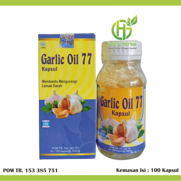 Kapsul Garlic Oil 77