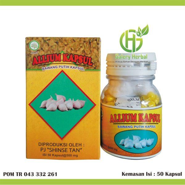 Allium Kapsul Ekstrak Bawang Lanang