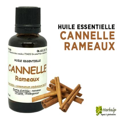 Huile Essentielle de Cannelle Rameaux