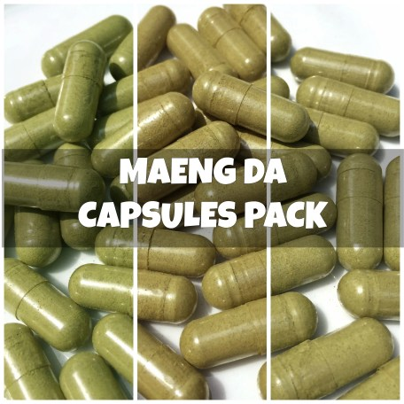 Maeng Da Capsules Pack (text)