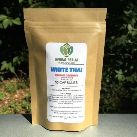 White Thai - 50 Capsules