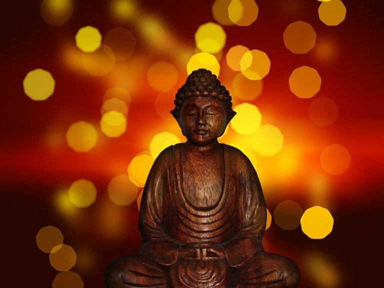 A Meditating Buddha