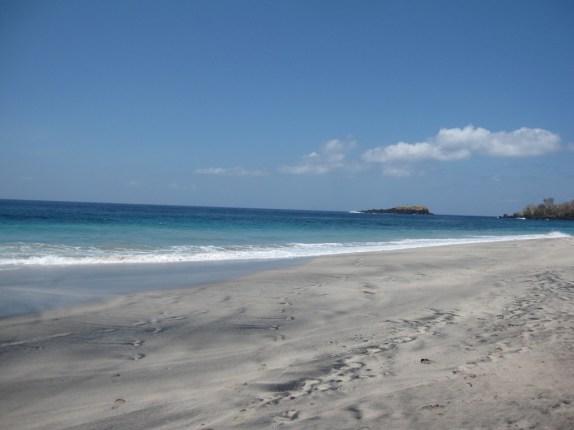 No one at White Sand Beach
