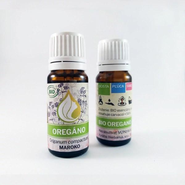 ORGANICKÉ OREGANO, esenciálny olej
