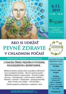 PREDNÁŠKA:Ako si udržať pevné zdravie v chladnom počasí @ Obchodík bez obalu | Trencin | Slovakia