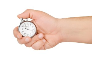 hand hold stopwatch