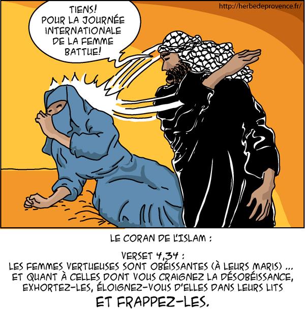 """Résultat de recherche d'images pour """"dessin violences conjugales islam"""""""